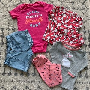 Baby Girl's Bunny Bundle — 12-18 months
